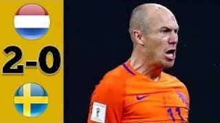 Video Netherlands vs Sweden 2-0 Highlights & Goals - 10 October 2017 MP3, 3GP, MP4, WEBM, AVI, FLV Oktober 2017