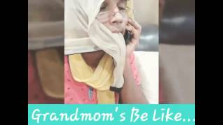 When parents leave you home alone without food and your grandmom's comes to know about this... :p Like it if you liked it. Leave your suggestions in the comm...