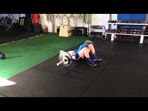 0 Somerville Training: Barbell Glute Bridges
