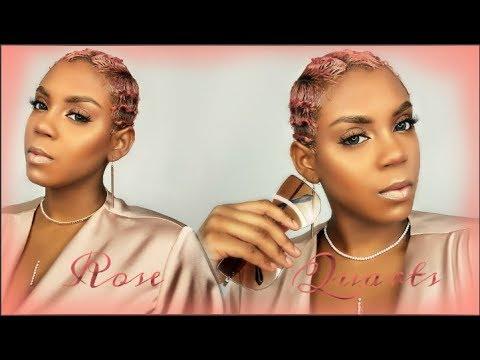 ROSE QUARTS HAIR COLOR / ION COLLOR BRILLIANCE