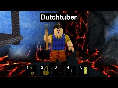 HELLO NEIGHBOR IN ROBLOX! *IK BEN HEM* (видео)