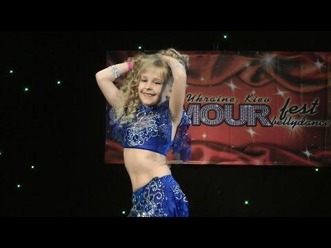 Christina Lobova ⊰⊱ GLAMOUR bellydance fest '14. (видео)