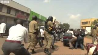 BBC News   Uganda  Kampala Mayor Hospitalised After  #039;tear Gas #039; Incident Mp4