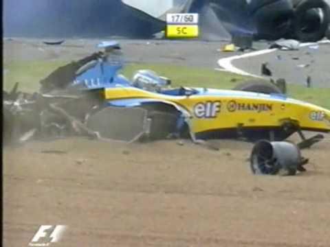 Accidente de Jarno Trulli (Silverstone 2004)