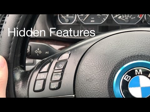 Hidden features of the BMW e46