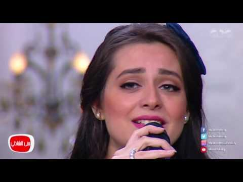 شاهد - هبة مجدي تغني أغنية زوجها محمد محسن بمناسبة عيد الأم