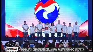 Video Deklarasi dibacakan ketua DPW partai Perindo Jakarta - Special Report 14/03 MP3, 3GP, MP4, WEBM, AVI, FLV Maret 2018