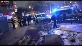 29-01-2019 godz ok 18:40 Nowogrodzka Pikieta kilkudziesięciu osób przed siedzibą PiS.