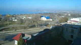 Перекрёсток в Щёлкино, 01.01.2013 - time-lapse с камеры 2