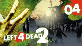 Left 4 Dead 2! Co-Op Campaign w/ PokeaimMD, Akamaru, Gator & steve Ep4 - THE SWAMP by PokeaimMD