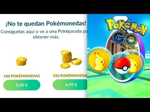 CONSEGUIR POKEMONEDAS GIRANDO POKEPARADAS EN POKEMON GO!