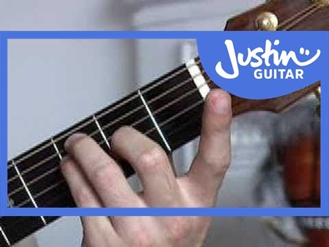 Basic Barré Chords #1of4 (Guitar Lesson CH-006) How to play