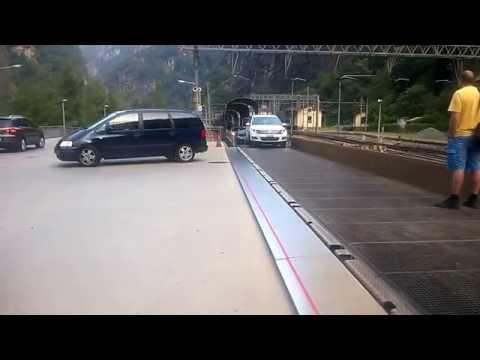 Car train Simplon: Brig–Iselle di Trasquera