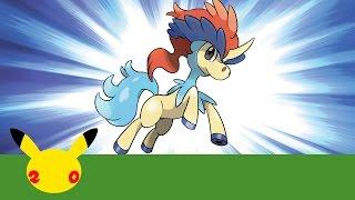 Celebrate #Pokemon20 with the Mythical Pokémon Keldeo! by The Official Pokémon Channel