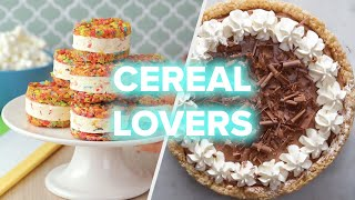Delicious Cereal Desserts That Don't Require A Spoon • Tasty by Tasty
