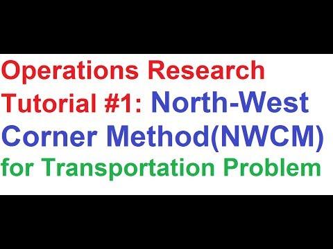 northwest corner method Need help with java coding for north west corner algorithm results 1 to 2 of 2 thread: need help with java coding for north west corner algorithm linkback.