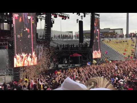 The Downfall Of Us All Live- A Day To Remember- Rock On The Range 2016