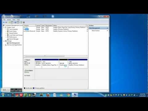 how to make a new local disk