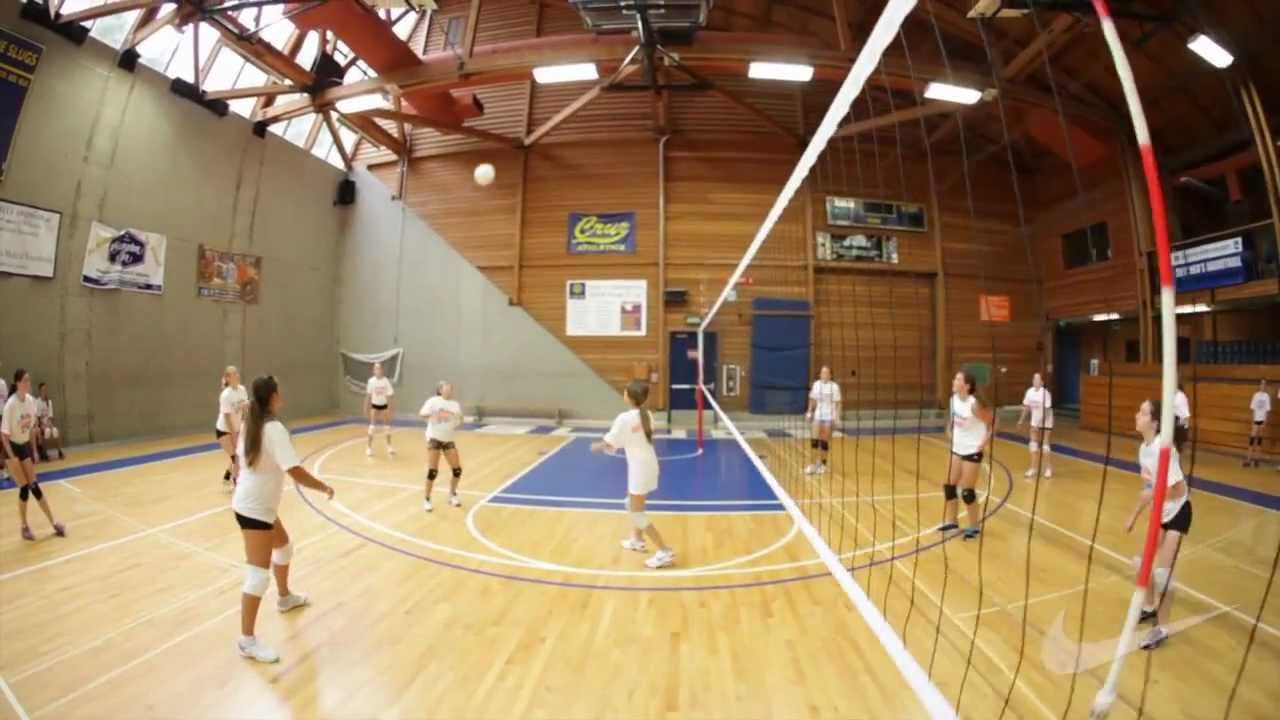 Nike Position Specialty Volleyball Camps - Video