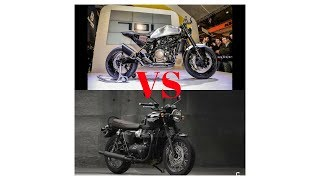 8. HOT NEWS!!!  Comparison 2018 Triumph Bonneville T120 Black VS 2018 Husqvarna VITPILEN 401