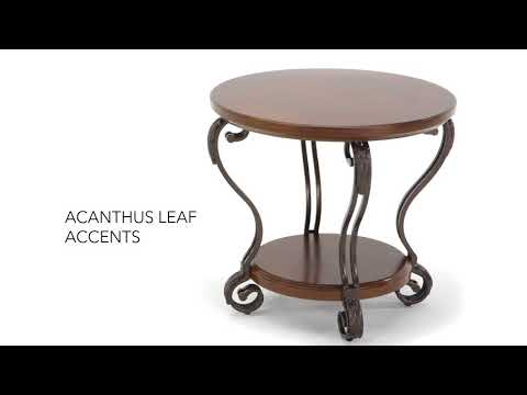Nestor T517-6 Round End Table