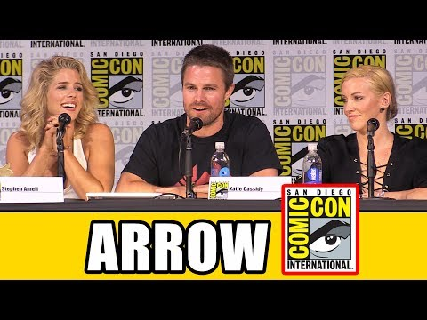 Arrow Comic Con Panel