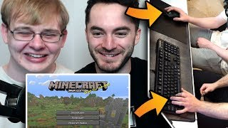 Minecraft But Carson Is On Mouse And I'm On Keyboard by CaptainSparklez