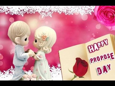 Happy propose day romantic messages video