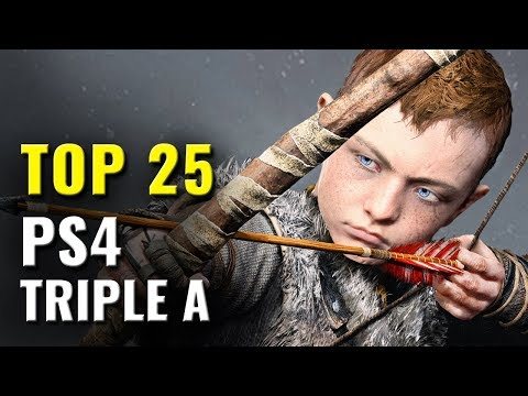 Top 25 PS4 Triple A Games Of 2016, 2017, 2018