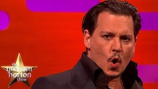 Video Johnny Depp Does A Great Donald Trump Impersonation - The Graham Norton Show MP3, 3GP, MP4, WEBM, AVI, FLV November 2018