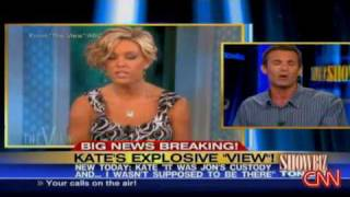 Kate Gosselin Exploding On The View.
