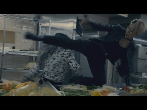 Wu Assassins - Jenny vs Zan Fight Scene [HD]