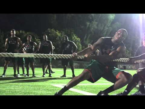 Miami Hurricanes Football | Offseason Conditioning 2016 | Week 1
