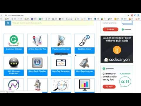 SEO Tools Rank - 100% Free SEO Tools