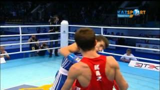 Бокстан ӘЧ. Қайрат Ералиев (56 кг) Жавид Чалабиевке қарсы