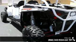 2. 2014 Polaris RZR XP 4 1000 EPS Custom White Lightning  - ...