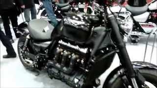 10. Triumph Rocket III Sport Custom 2.3 R3 148 Hp 193 Km/h 119 mph * see also Playlist