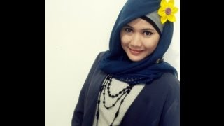 Tutorial Hijab Modern Paris Simple | Model Hijab Terbaru By Didowardah - Part #3