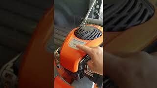 7. Adjust Governor On Husqvarna LC221A Lawnmower