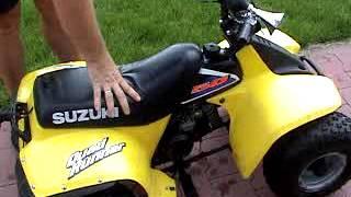 10. Suzuki LT 50 Quad Runner cold start tutorial
