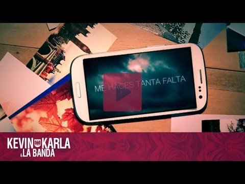 Me Haces Tanta Falta – Kevin Karla & La Banda (Lyric Video)