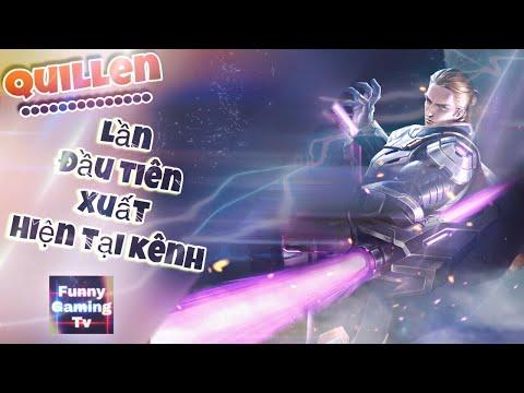 LIÊN QUÂN MOBILE | Trải nghiệm Skin mới vừa ra mắt Quillen Thống Soái Đế Chế cùng FUNNY GAMING TV - Thời lượng: 14:08.