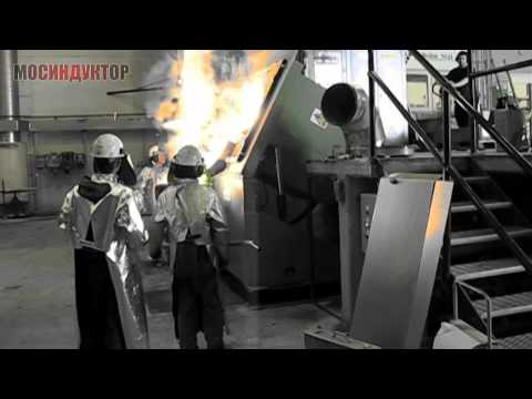 Индукционная плавильная печь ИПП-350/500Ч