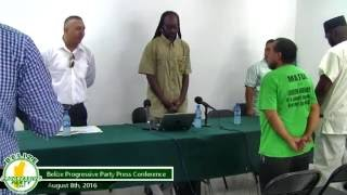 BPP Press Conference | September 8th, 2016