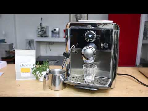 Gaggia Platinum Vogue Test After Tune Up 1172