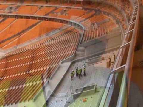 Estadio en remodelación