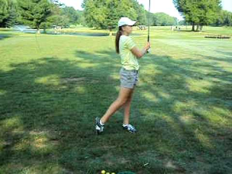 Golf swing on 8-7-10