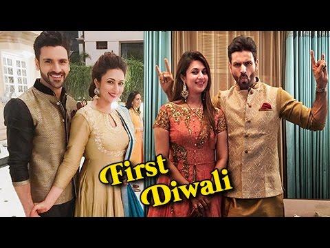 Divyanka Tripathi And Vivek Dahiya FIRST Diwali Af