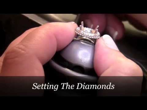 Oval Halo Engagement Ring - Creating Jaslynn's Engagement Ring by Vanessa Nicole Jewels