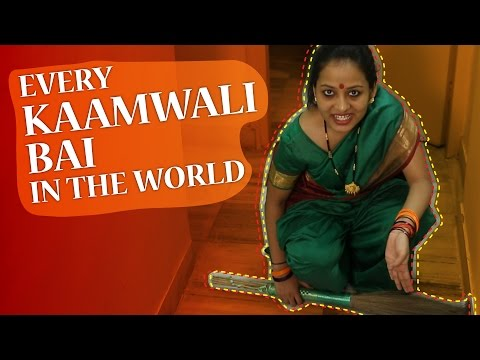 every - SUBSCRIBE to Being Indian Channel by CLICKING the Link Below - http://goo.gl/qhzVAi #BeingIndian is back this tuesday with a new video Every Kaamwali Bai In The World. A comical take on the...